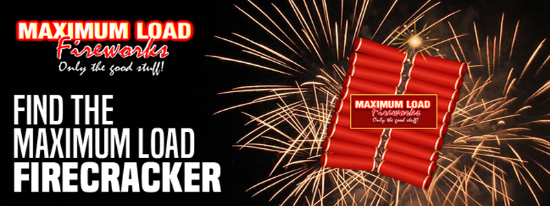Find The Maximum Load Firecrackers And  Win!