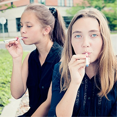 First Tidbit Of The Day: Survey Shows Fewer Teens Are Vaping and Smoking, CDC Finds