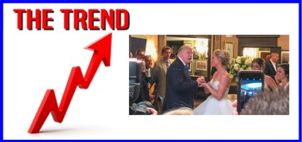 The KICKS 106.3 Morning Trend: Trump Crashes Wedding at His NJ Golf Club