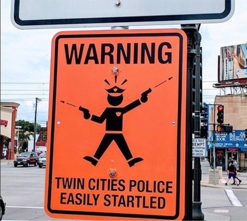 Illegal Signs Pop Up In Minneapolis...Has People Thinking