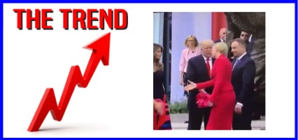 The KICKS 106.3 Morning Trend: Video of Polish First Lady Dodging Trump Handshake Goes Viral