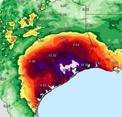 It's So Bad In Texas They've Had To Redesign The Weather Maps