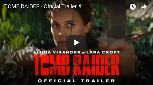 Tomb Raider Official Trailer #1
