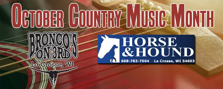 October Country Music Month
