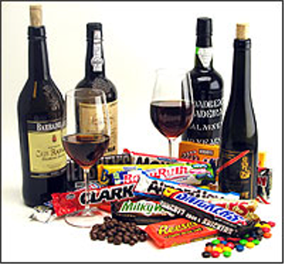 What's Better Than Wine And Chocolate? NOTHING!