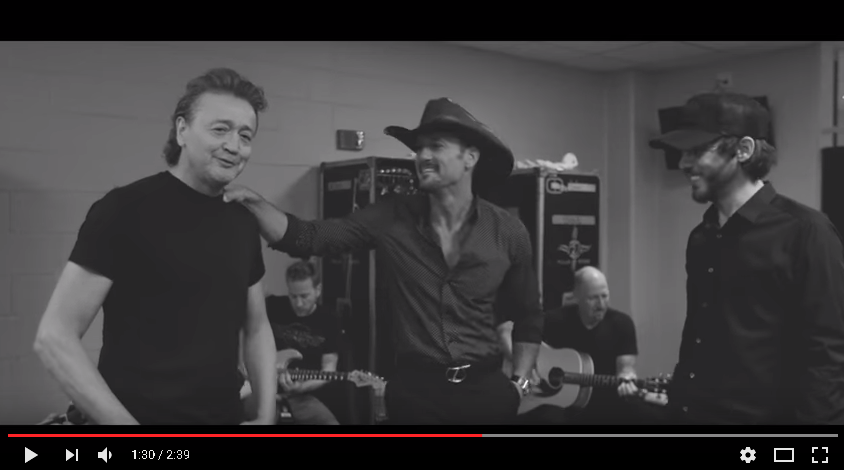"Tim McGraw, Chris Janson, & Mark Collie Cover ""Mama Tried"""