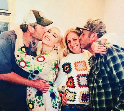 It Was A Very Country Thanksgiving For Blake And Gwen