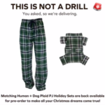 Jammies For You And Your Dog!