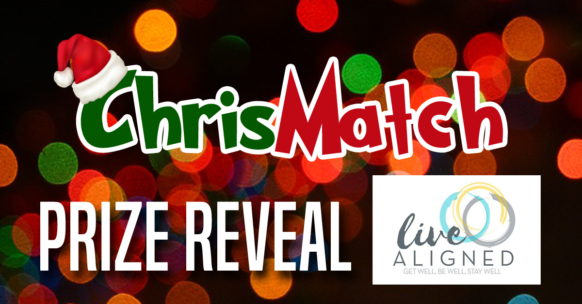 ChrisMatch PRIZE REVEAL - Live Aligned Chiropractic