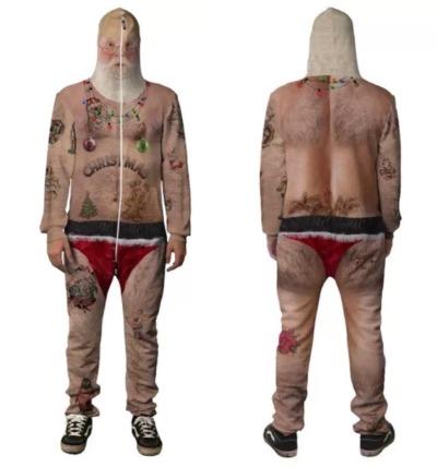 The Sexy Christmas Belovesie...Very Disturbing