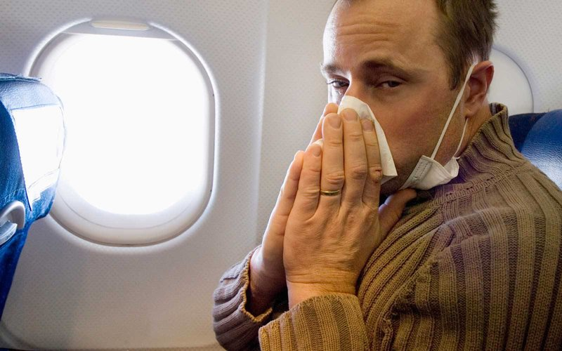 How To Avoid Catching The Flu On A Plane