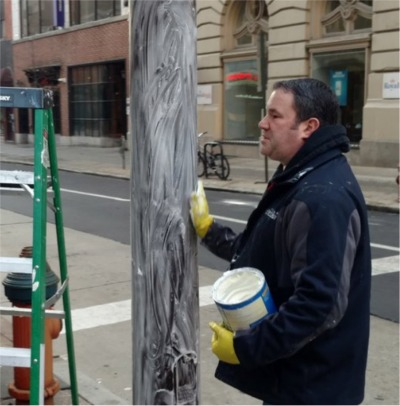 The City Of Philadelphia Greased The Poles!