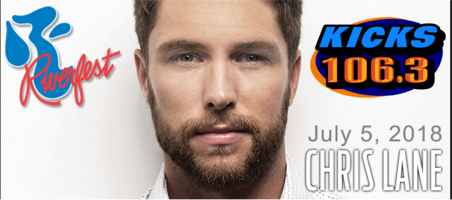 Chris Lane Coming To Riverfest!