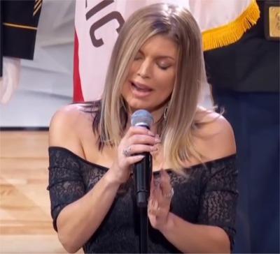 "We Have Fergie's ""Interesting"" Interpretation Of The National Anthem"