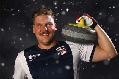 Matt Hamilton's Mustache Rules The Olympics