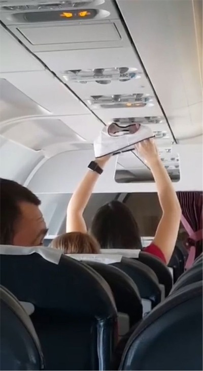 Wait Till You See What This Airline Passenger Used The Air Vent For!