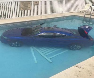"""A Florida Mom Redefines """"Car Pool!"""""""