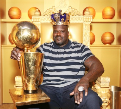 Shaquille O'Neal Holds An Interesting Shopping Record