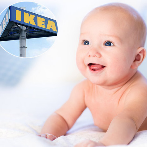 Here Are 18 IKEA-Inspired Baby Names