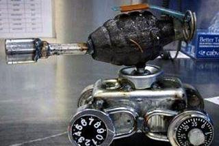 Grenade Seized