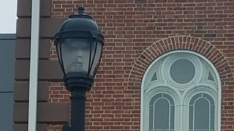 Ghost In Lightpost?