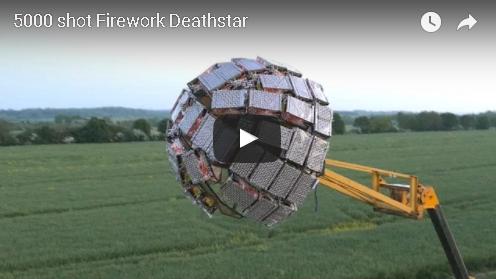 5000 Shot Firework Deathstar