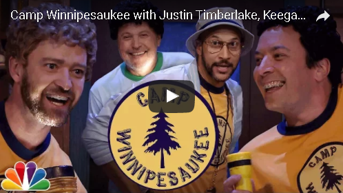 Justin Timberlake & Jimmy Fallon Return To Camp Winnipesaukee