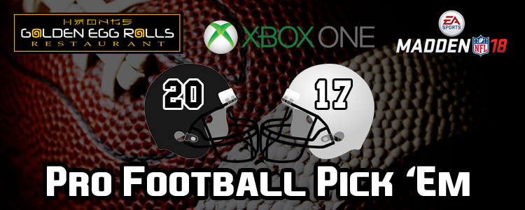Isaac's Week 1 Pro Football Picks