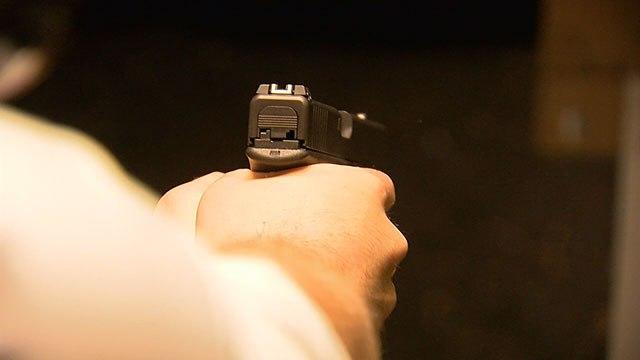 Mom Fires Gun