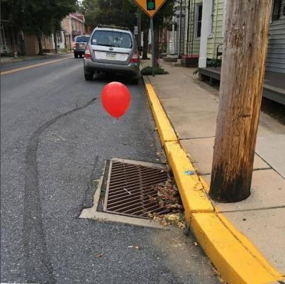"""""""It"""" Balloons"""