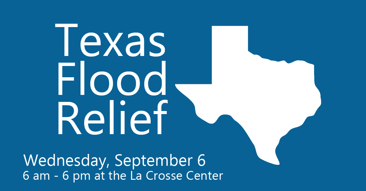 Texas Flood Relief Live Broadcast Wednesday