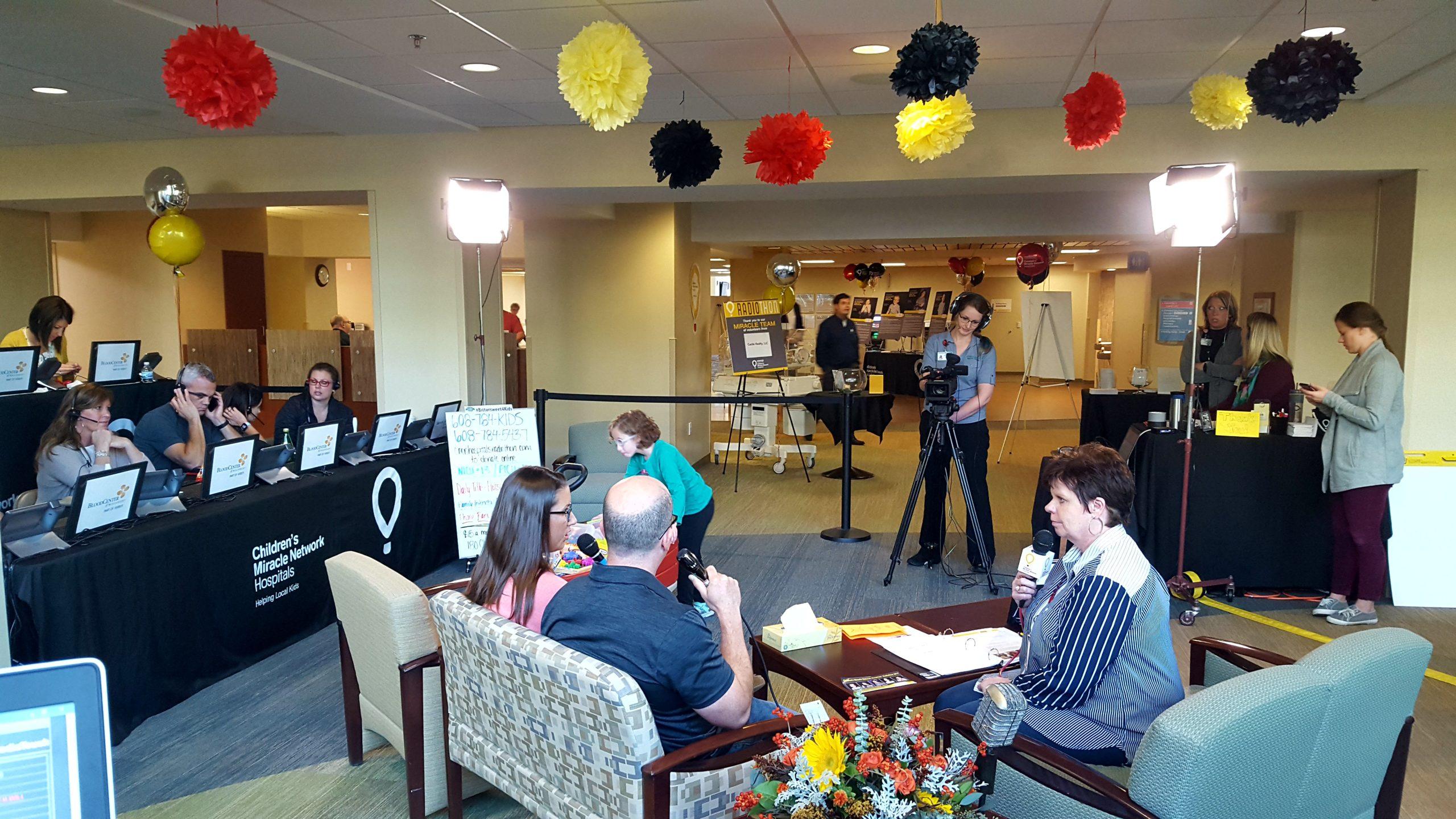 CMN Hospitals Radiothon Day 2!