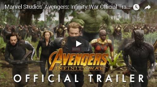 """""""Avengers: Infinity War"""" Official Trailer"""