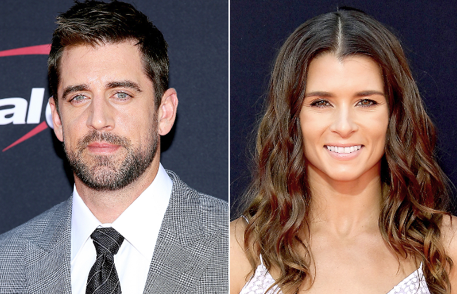 Aaron Rodgers Dating Danica Patrick?