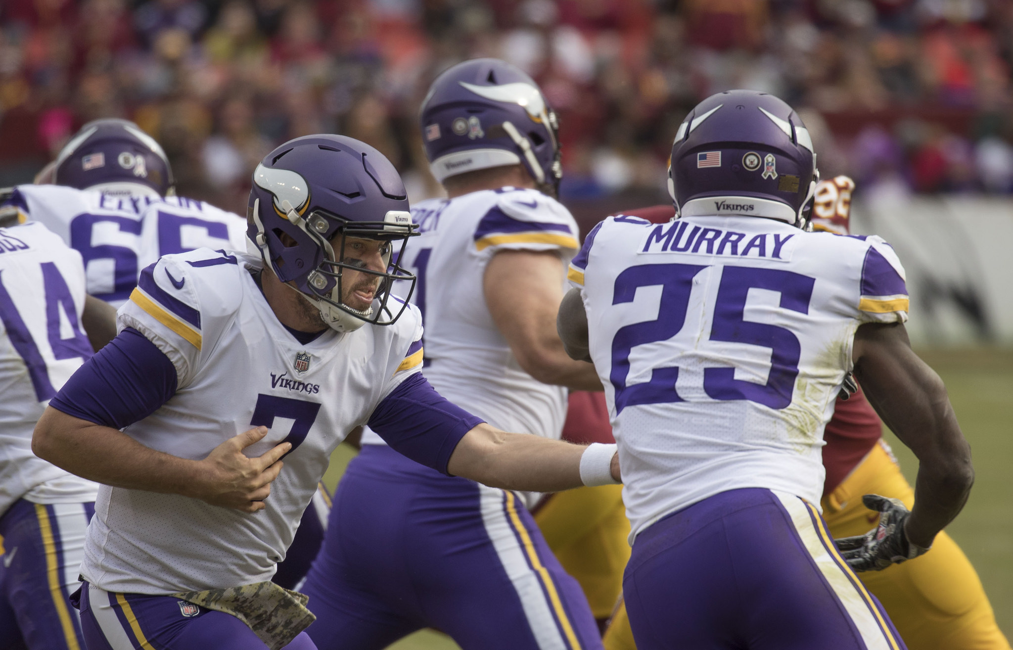 Keenum To The Broncos, Cousins To The Vikings