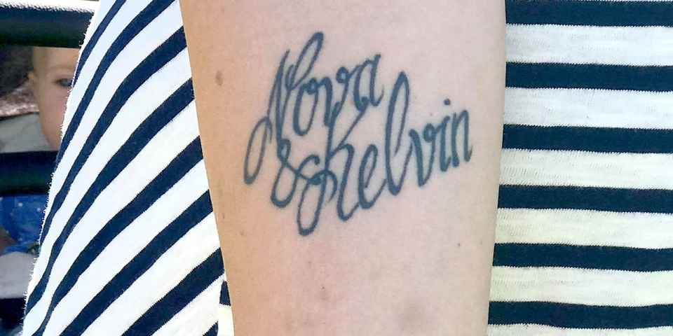 Mom Renames Son After Typo In Tattoo Of His Name