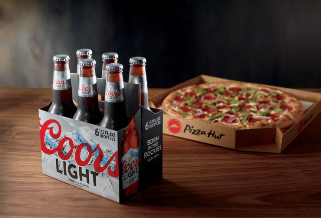 Pizza Hut Will Now Deliver 6-packs Of Beer With Your Pizza