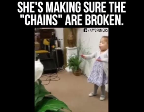 Look at This Sweet Girl SING!