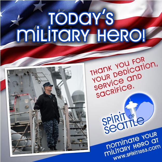 Recognizing Your Military Hero - Mark Schlosser