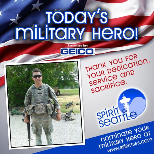 Recognizing Your Military Hero – Andy Barto