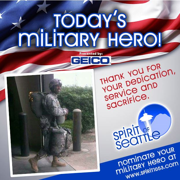 Recognizing Your Military Hero - Quinn Eugene