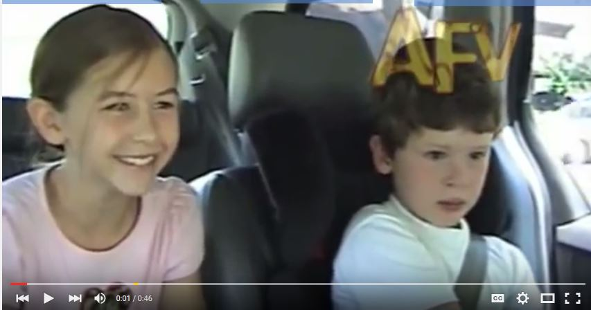 Siblings Find Out They are Going to Have a Sister