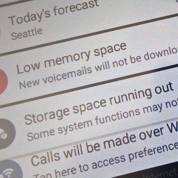 Got Low Memory Space?