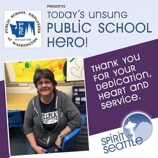 Recognizing the Public School Employees - Elaine Custer