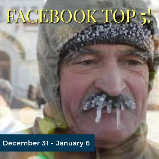 Facebook Top 5 (12/31-01/06)