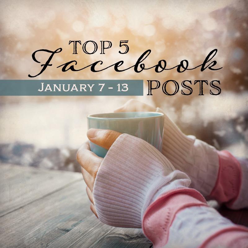 Facebook Top 5 (01/07-01/13)