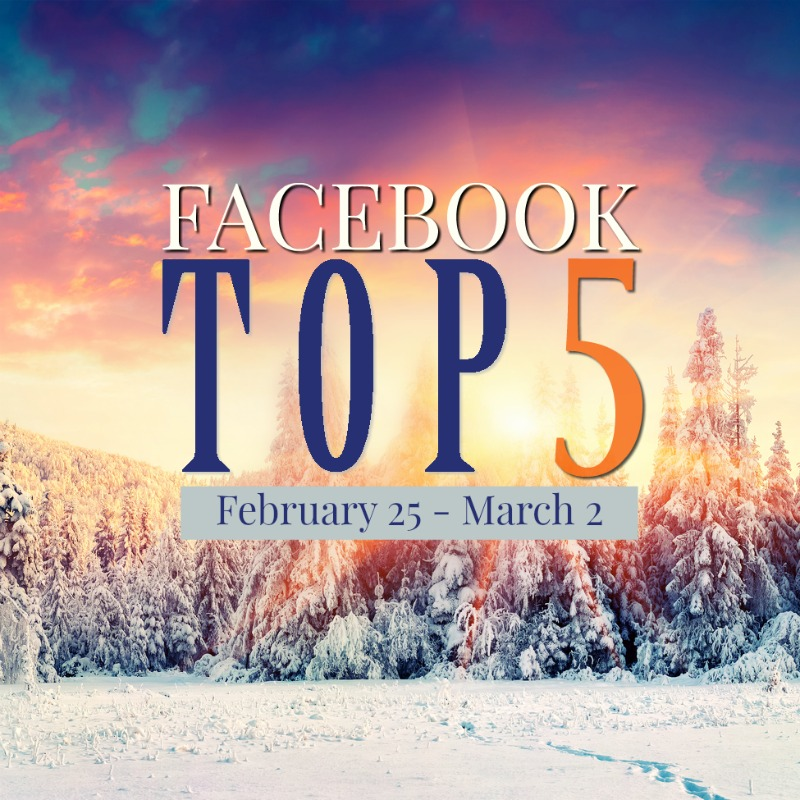Facebook Top 5 (2/25-3/2)