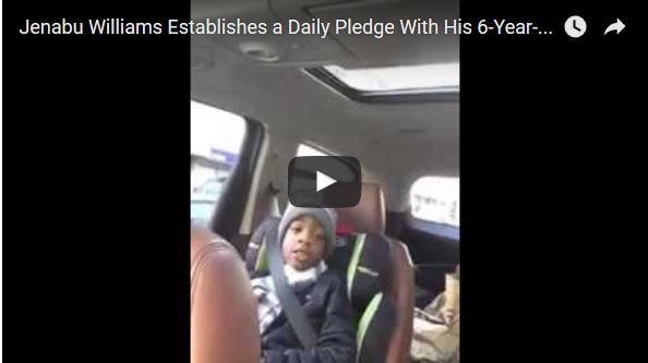 Daily Pledge Between Father & Son