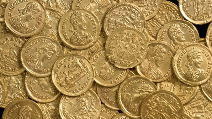 Rare Coins Discovered Again in England