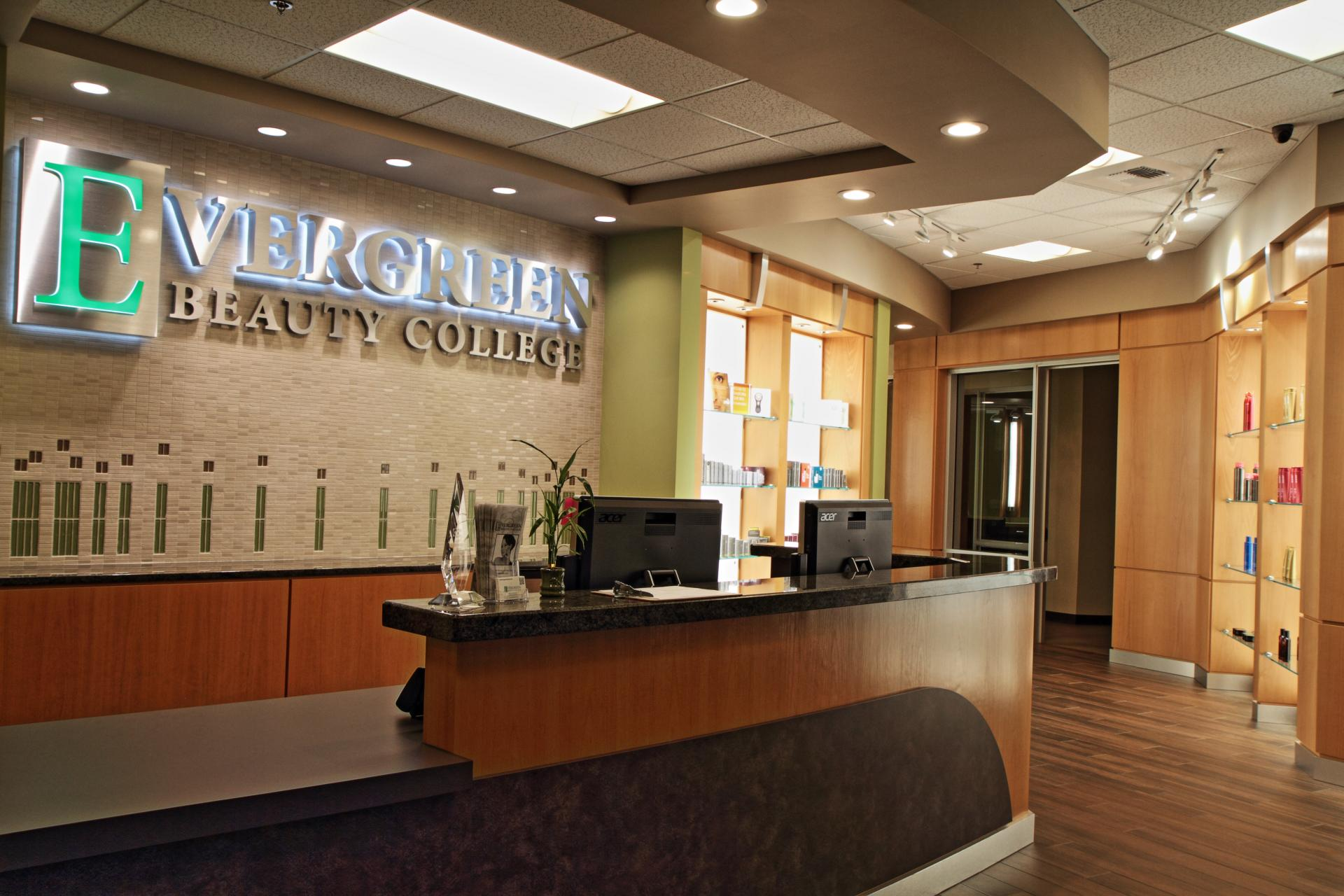 CONGRATS Evergreen Beauty College!